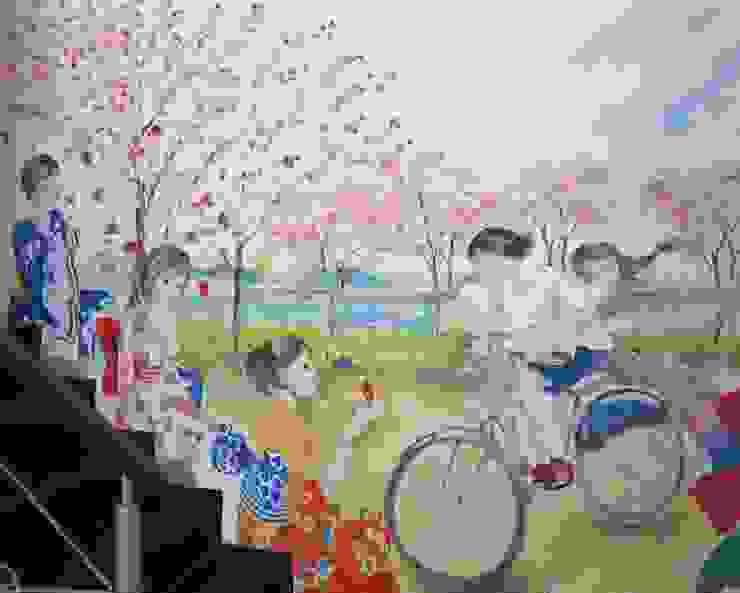 Mural Oleh POWL Studio