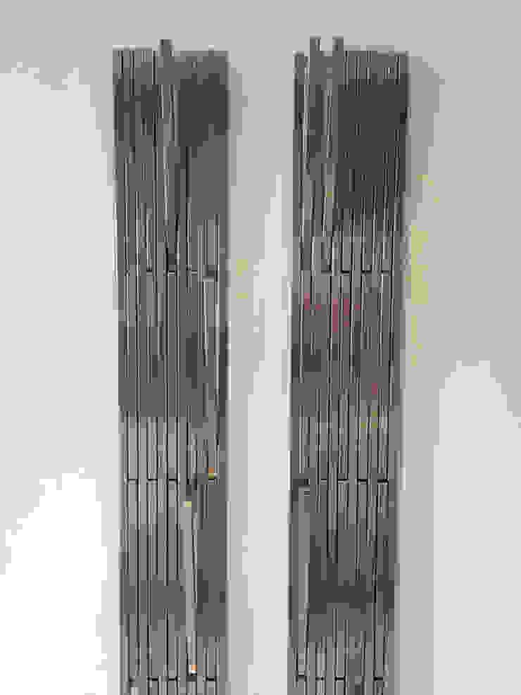 par Cecilia Fernandini Estudio Moderne Aluminium/Zinc