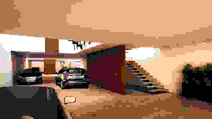 WERHAUS ARQUITECTOS Modern Garage and Shed