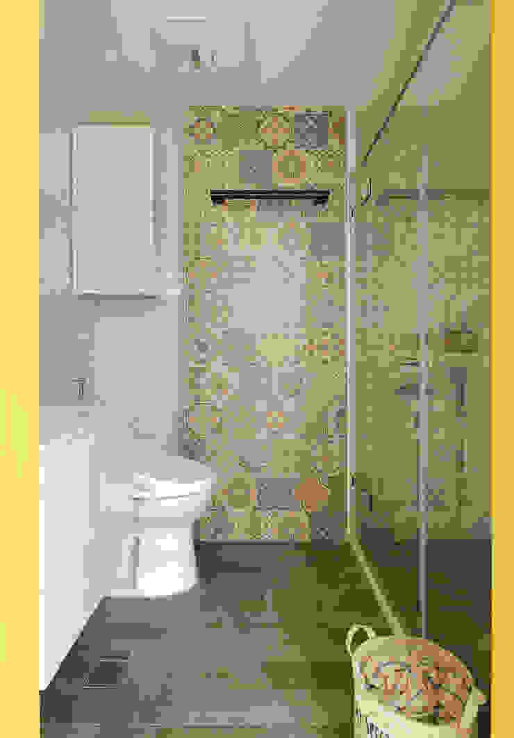 Scandinavian style bathroom by 一葉藍朵設計家飾所 A Lentil Design Scandinavian