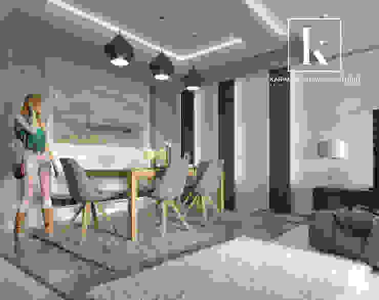 Sheraton Helioplis Appartment Modern dining room by Karim Elhalawany Studio Modern