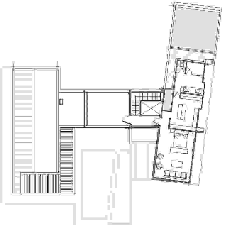 PLANTA 2º PISO de Cota Cero Arquitectos Moderno