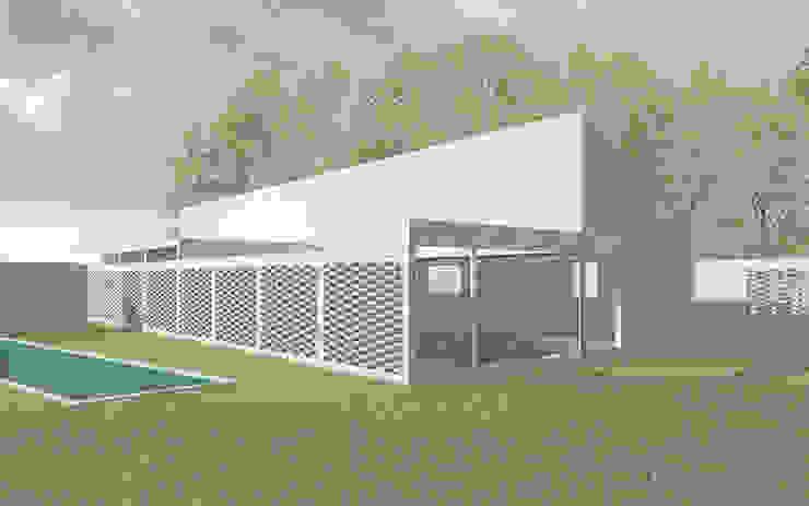 Casa en Machalí Casas de estilo rural de mutarestudio Arquitectura Rural