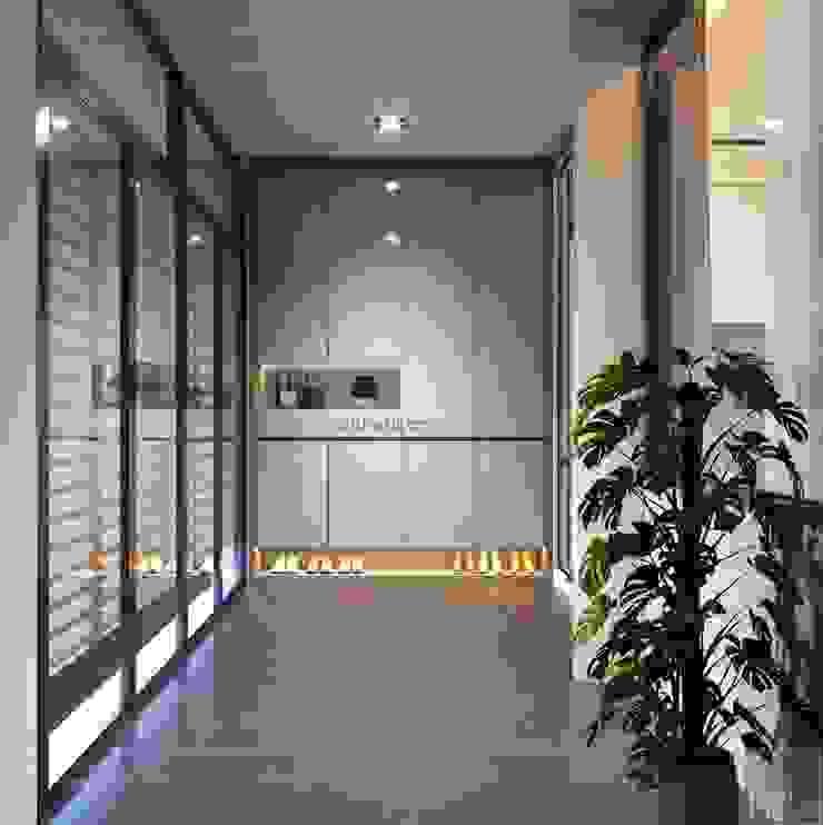 Thiết kế nội thất nhà phố, biệt thự phong cách hiện đại bởi ICON INTERIOR Hiện đại