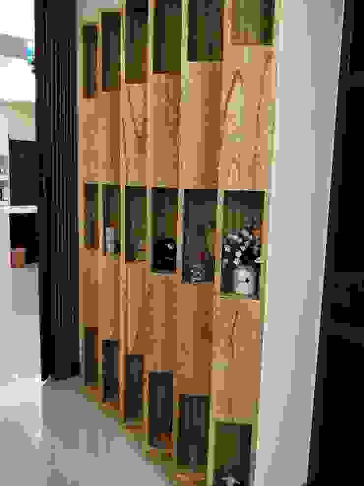 造型雙向裝飾櫃 頂尖室內設計工程行 商業空間