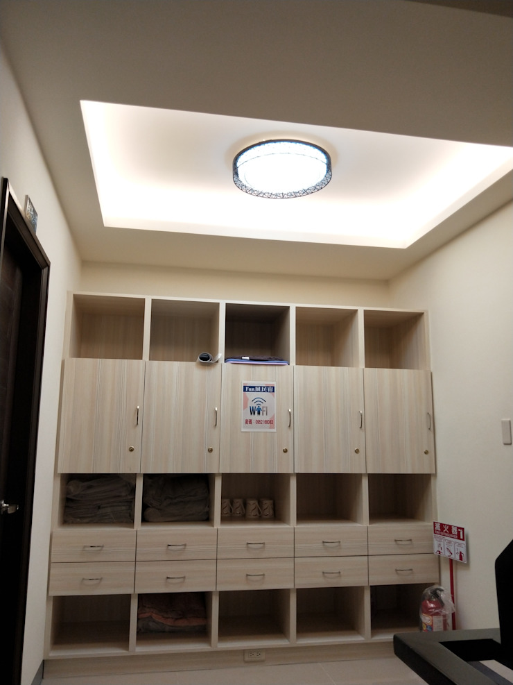 2樓 公共區域備品櫃 頂尖室內設計工程行 商業空間
