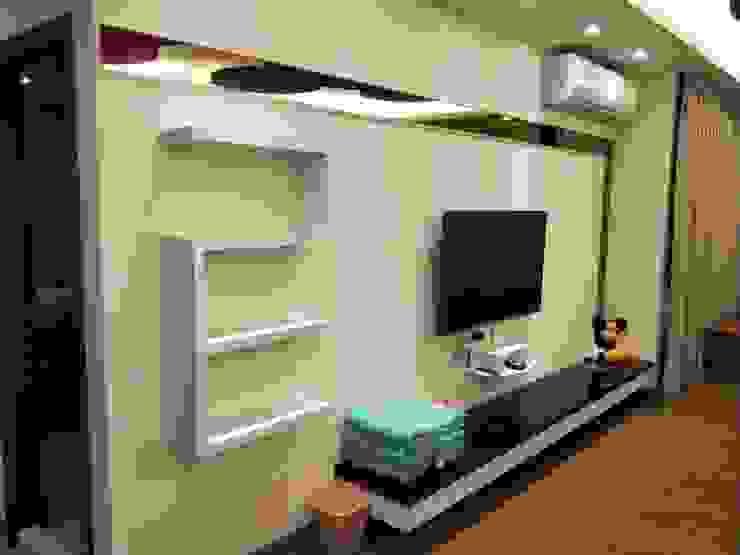 造型電視背景牆 頂尖室內設計工程行 商業空間