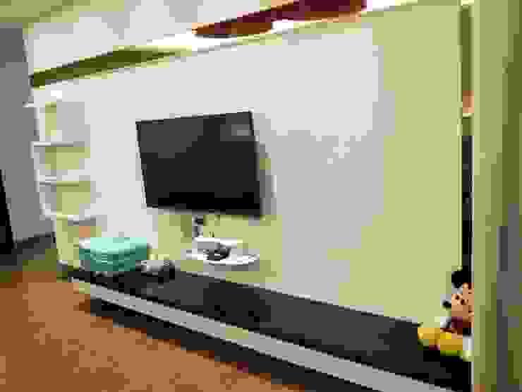 造型電視櫃 頂尖室內設計工程行 商業空間