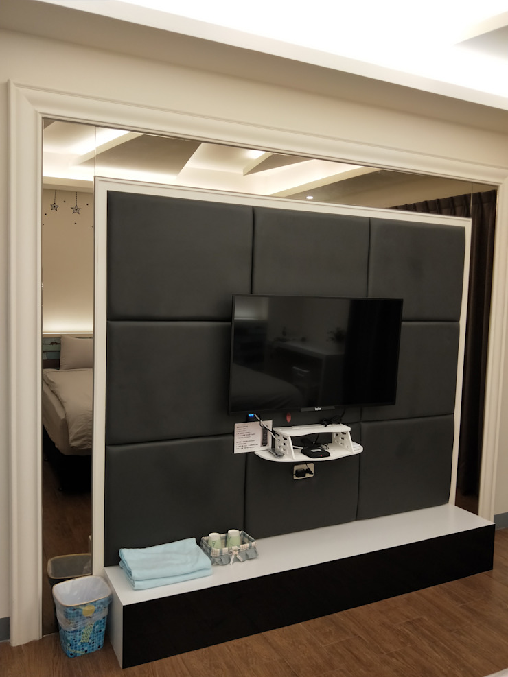 造型電視牆 頂尖室內設計工程行 商業空間