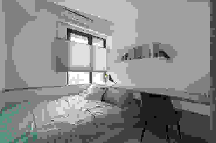 善用空間的女孩房 根據 Moooi Design 驀翊設計 現代風