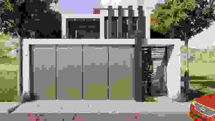 por Taller NR Arquitectura Moderno