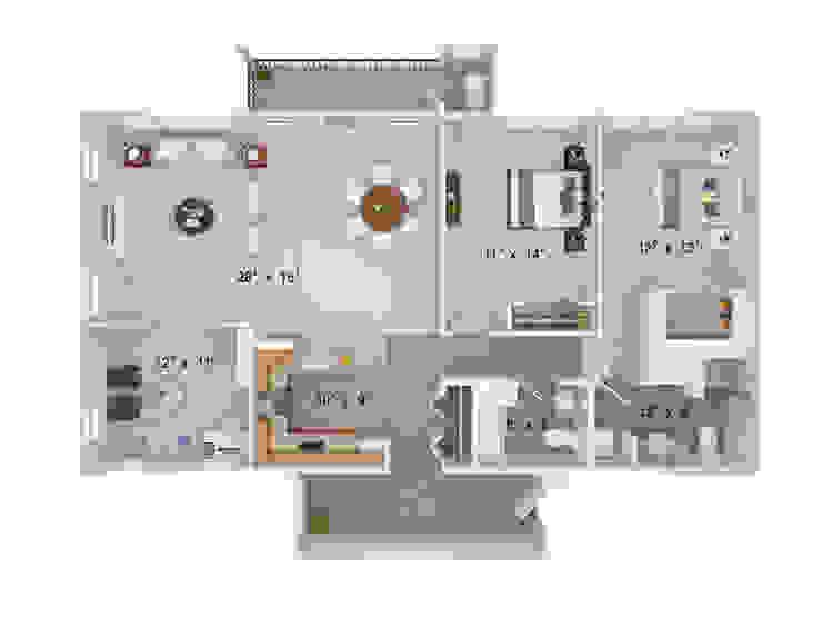 2D 3D Floor Plan Rendering Services The 2D3D Floor Plan Company