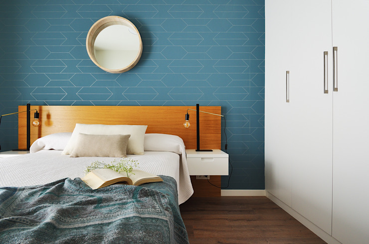 Scandinavian style bedroom by Noelia Villalba Scandinavian