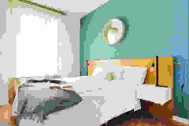 Color favorito: el azul Noelia Villalba Dormitorios de estilo escandinavo
