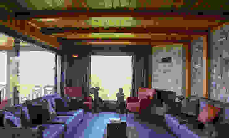 Gürsoy Kerestecilik Rustikale Wohnzimmer Holz