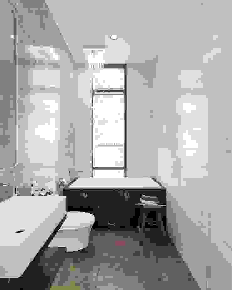 Thiết kế nội thất biệt thự phong cách Tân Cổ Điển sang trọng đẳng cấp Phòng tắm phong cách kinh điển bởi ICON INTERIOR Kinh điển