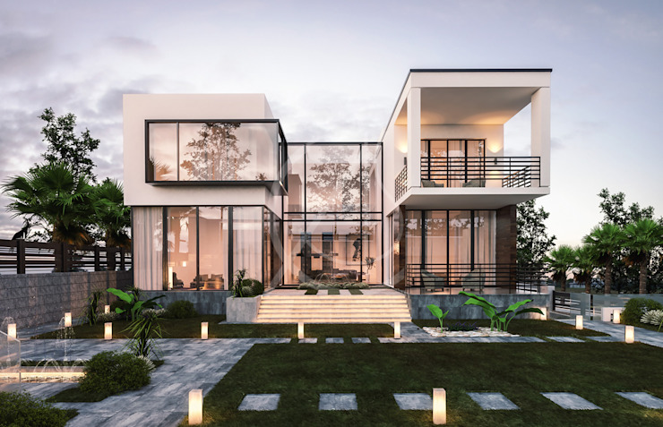Contemporary Modern House Design by Comelite Architecture, Structure and Interior Design Modern