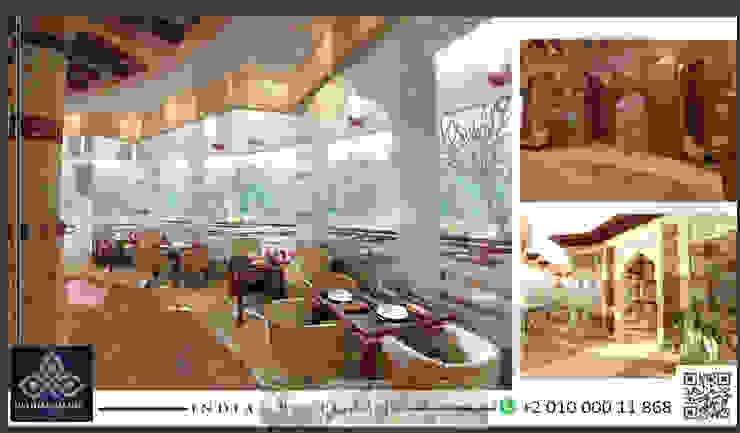 مطعم بالزمالك: حديث  تنفيذ UTOPIA DESIGNS AND CONSTRUCTION, حداثي مواد مُصنعة Brown