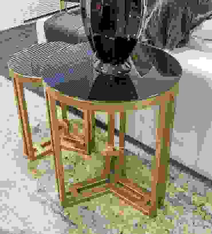 Sgabello Interiores Living roomAccessories & decoration Metal Black