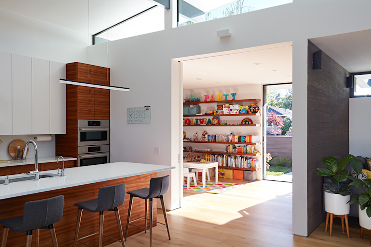 Los Altos New Residence By Klopf Architecture Klopf Architecture Modern Kitchen