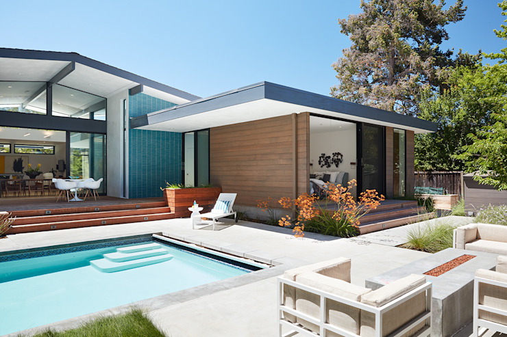Los Altos New Residence By Klopf Architecture Klopf Architecture Modern Houses