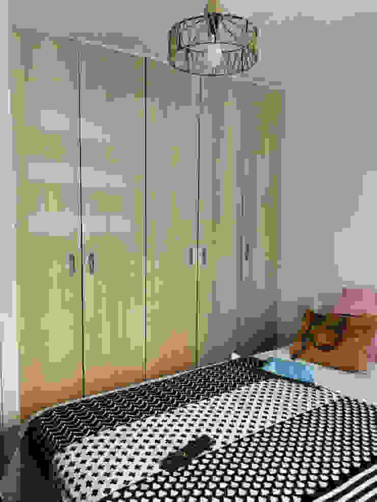 Closet Lagom Studio Vestidores y closetsArmarios y cómodas Aglomerado Acabado en madera