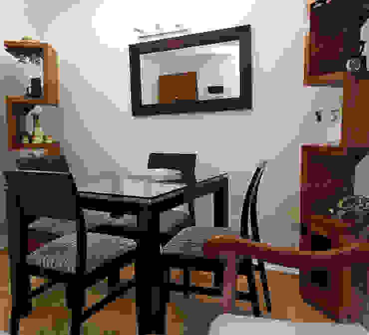 Estar y Comedor Lagom Studio Comedores de estilo moderno Acabado en madera
