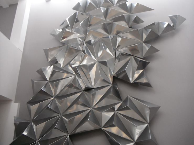 """Fabricación e instalación de Escultura """"Argentina"""" de Dheco Moderno Metal"""