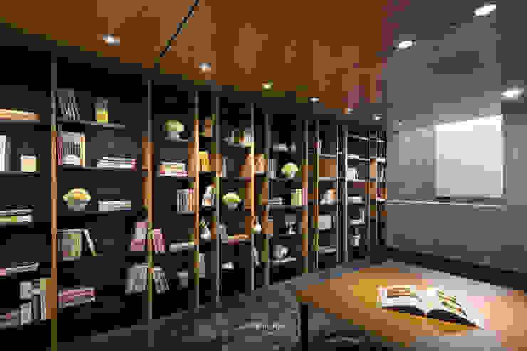 Library Ruang Studi/Kantor Modern Oleh INERRE Interior Modern