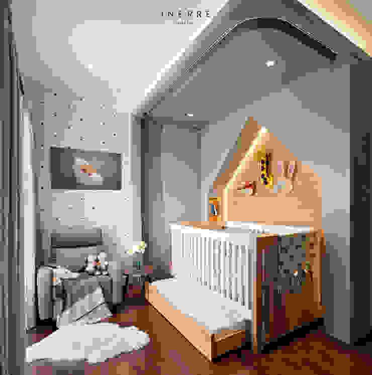 Toby's Crib & Nursery Area by INERRE Interior Modern