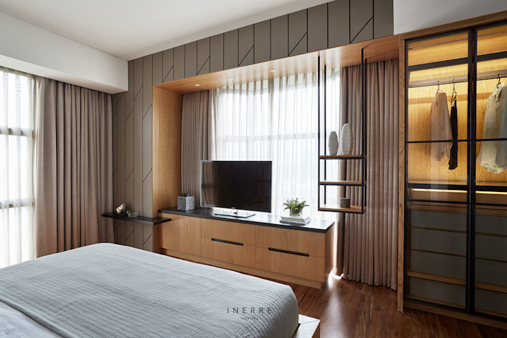Master Bedroom Modern Bedroom by INERRE Interior Modern