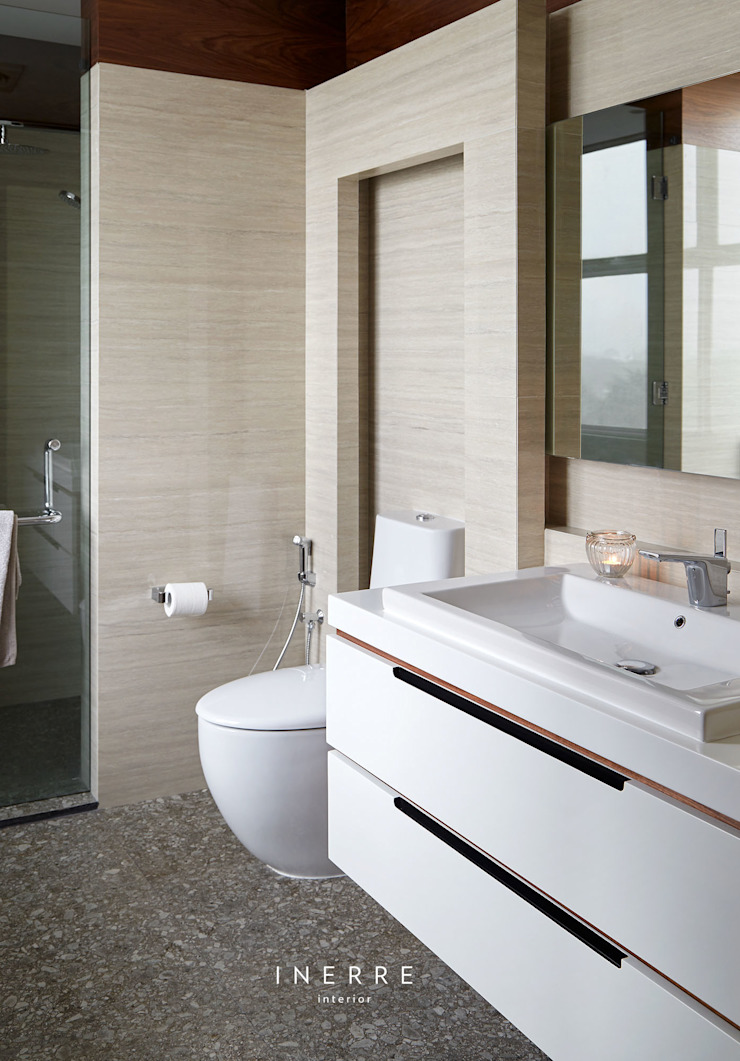 Master Bathroom Modern Bathroom by INERRE Interior Modern