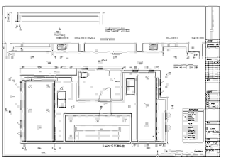 3層天花板平面圖: 不拘一格  by houseda, 隨意取材風