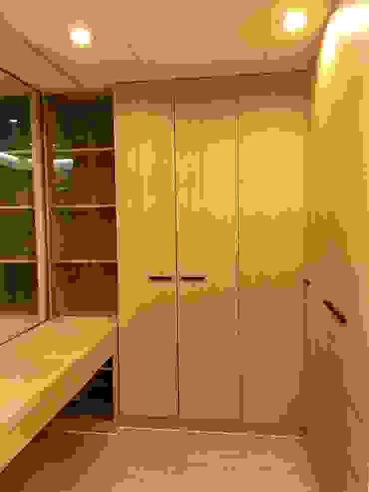 2層更衣室衣櫃 根據 houseda 隨意取材風 合板