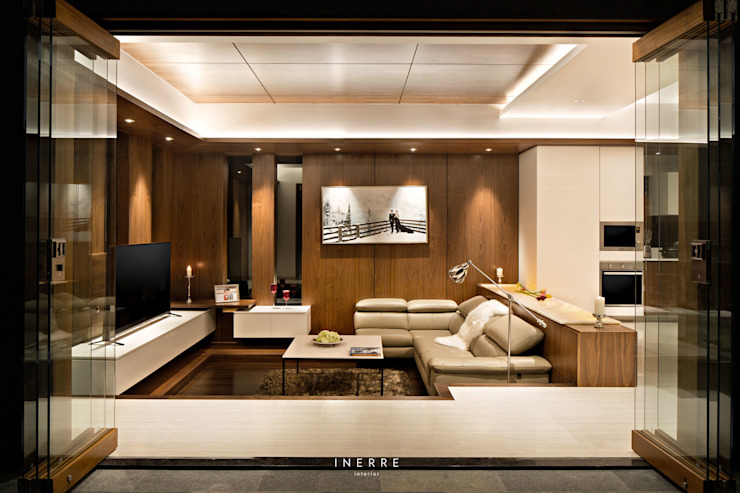 Living Room Modern Living Room by INERRE Interior Modern