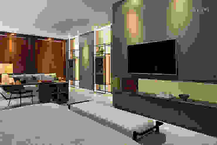 AJ Residence Modern Bedroom by INERRE Interior Modern