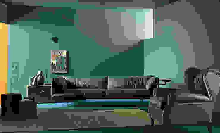 Poltrona Frau家具意大利現代簡約風格家具品牌沙發: 現代  by 北京恒邦信大国际贸易有限公司, 現代風