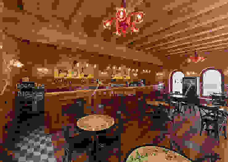 Doğaltaş Atölyesi Rustic style gastronomy Bricks Multicolored
