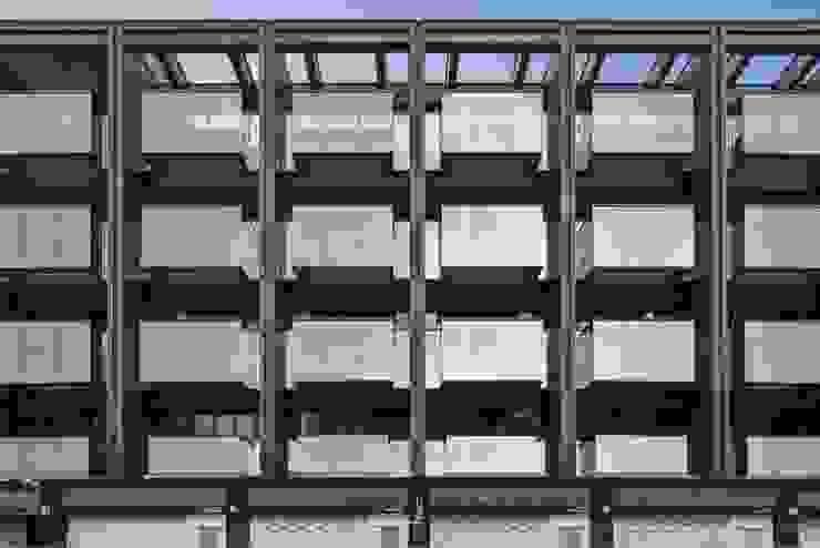 竹村空間 Zhucun Design Oficinas y comercios de estilo minimalista Vidrio