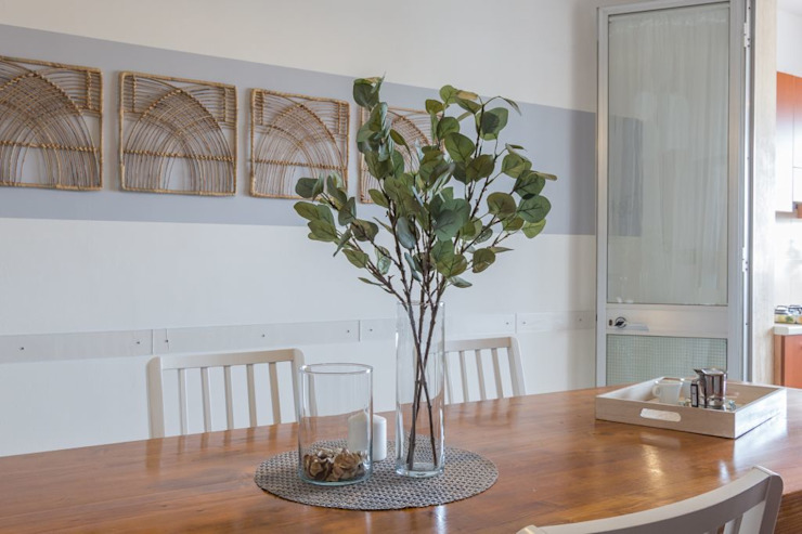 Anna Leone Architetto Home Stager Mediterranean style dining room
