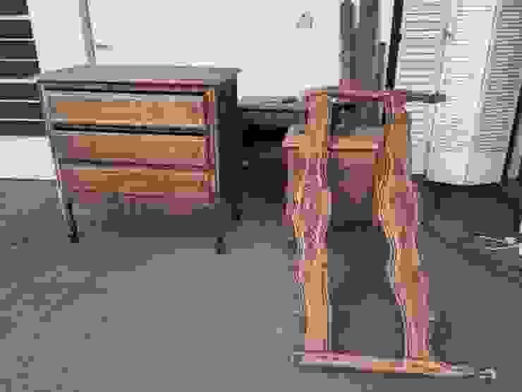 Juego de dormitorio en restauración: Dormitorios de estilo  por ANADECO - Decoradora y Diseñadora de Interiores - La Plata