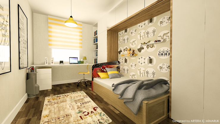ARTERA İÇ MİMARLIK VE MİMARLIK Nursery/kid's room