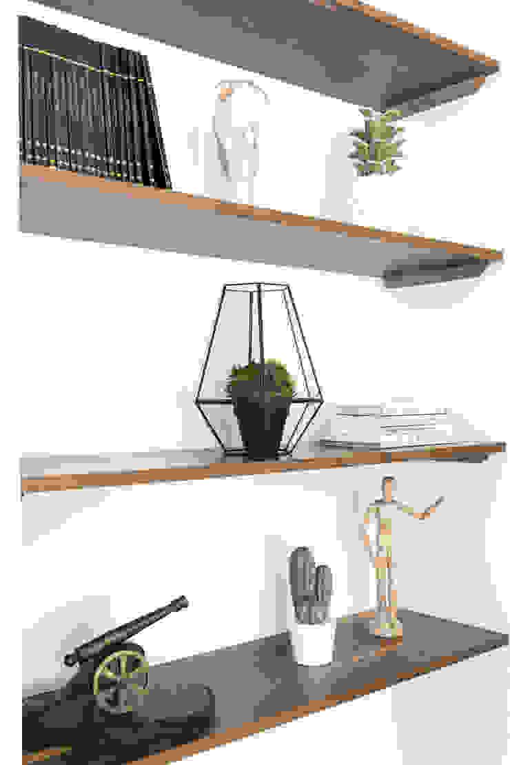 Diseño Integral Obra Mendoza Livings modernos: Ideas, imágenes y decoración de Bhavana Moderno Madera Acabado en madera