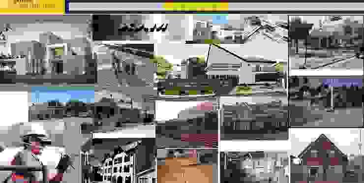 arquitectura y construcción de Carlos Castillo Salas ARQUITECTO Moderno Concreto reforzado