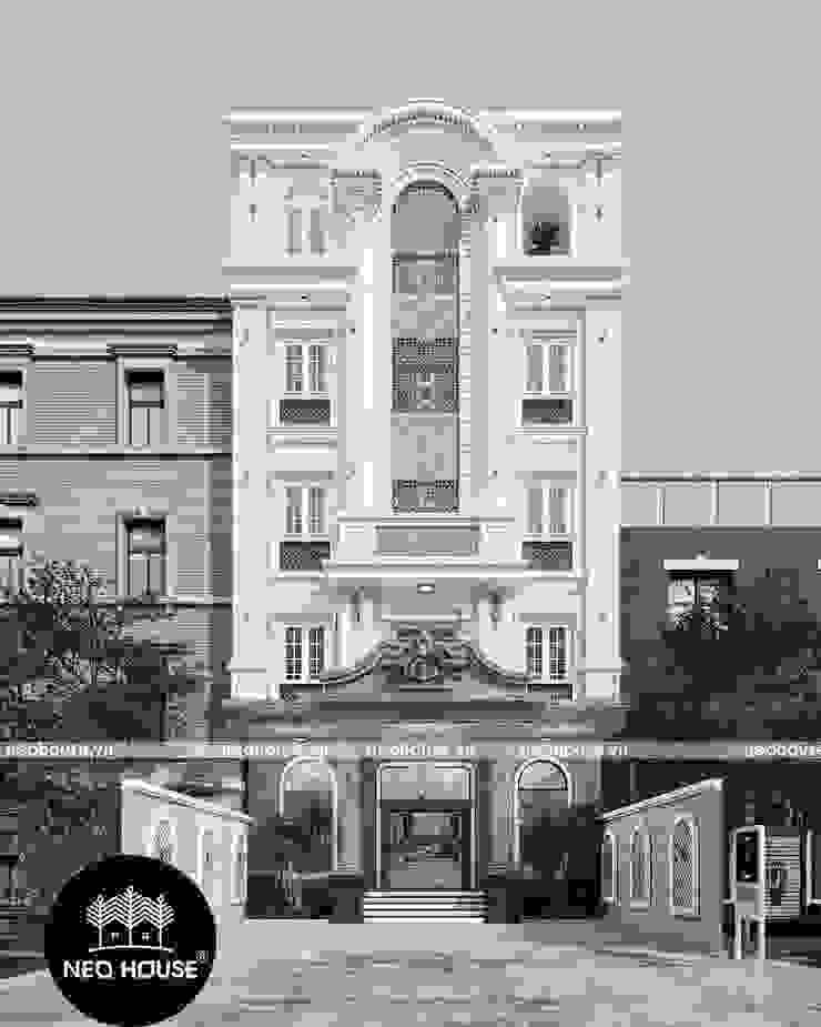 Thiết Kế Khách Sạn Yurii : hiện đại  by NEOHouse, Hiện đại