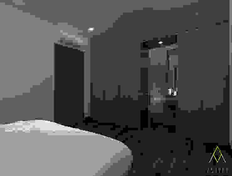 Master Bedroom Wardrobe:modern  oleh The Ground Market, Modern