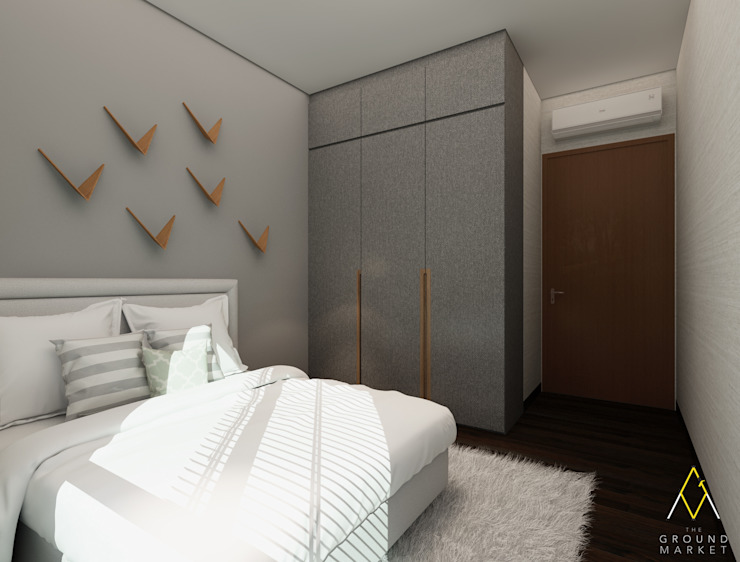 Kids Bedroom:modern  oleh The Ground Market, Modern