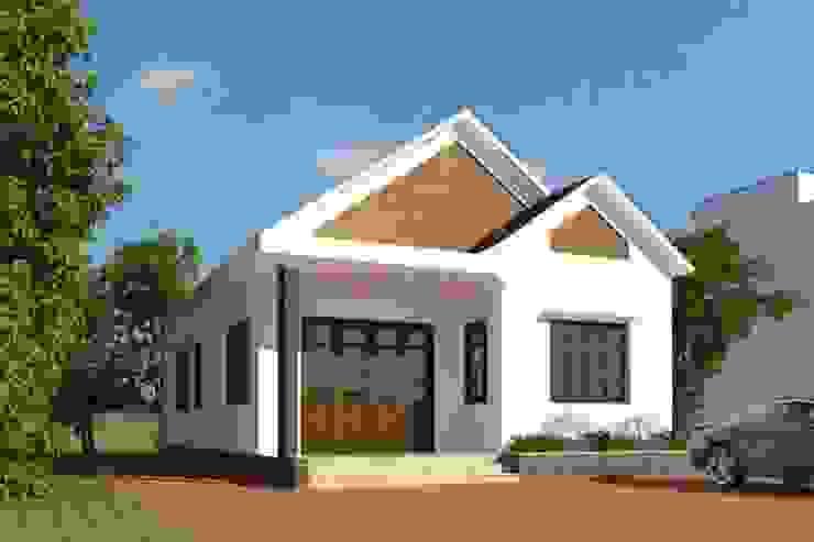 Casas de estilo moderno de Kiến Trúc Xây Dựng Incocons Moderno