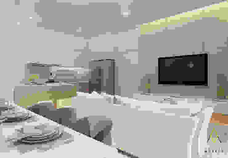 Kitchen & Living Room Oleh The Ground Market