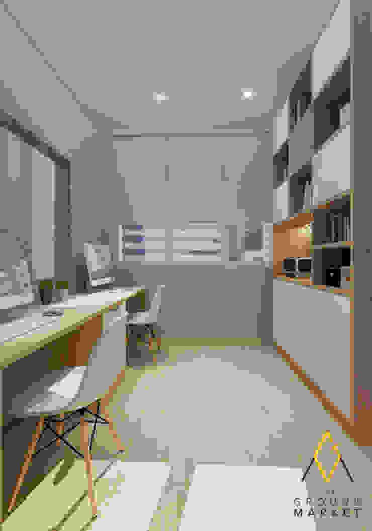 Office/ Study Room Oleh The Ground Market